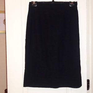 Liz Claiborne Skirts - Liz Claiborne Black Pencil Skirt